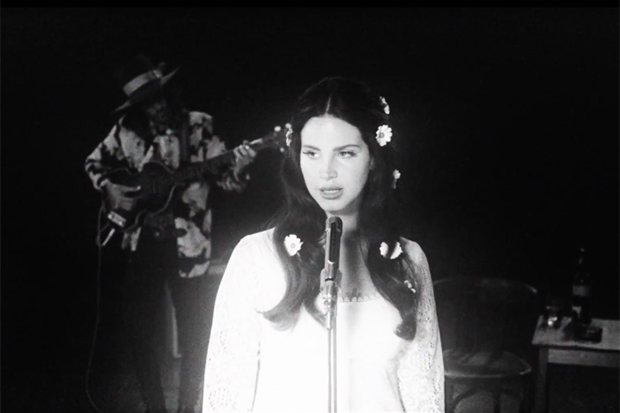 "Lana Del Rey's Cosmic ""Love"" Video"