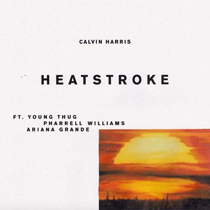 "Calvin Harris' Bouncy ""Heatstroke"""