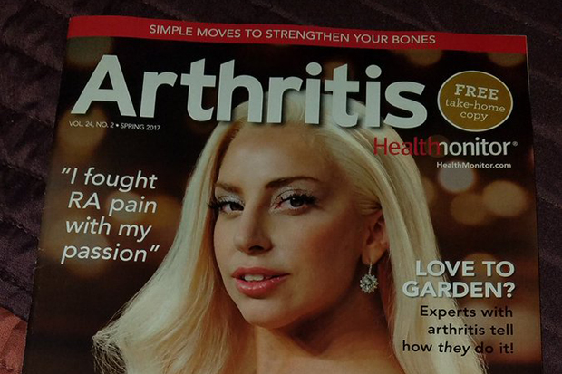 Lady Gaga Covers 'Arthritis' Magazine