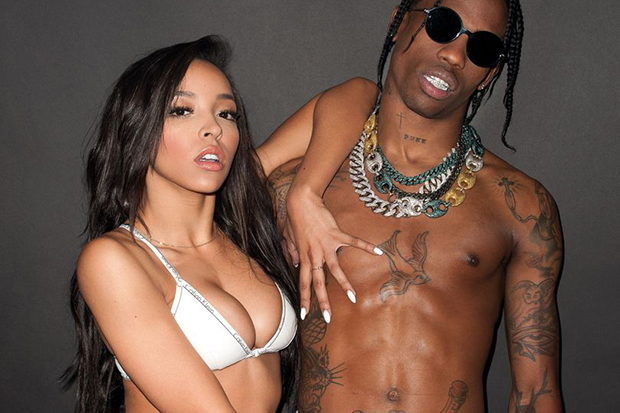 Tinashe Grabs Travis Scott's Crotch