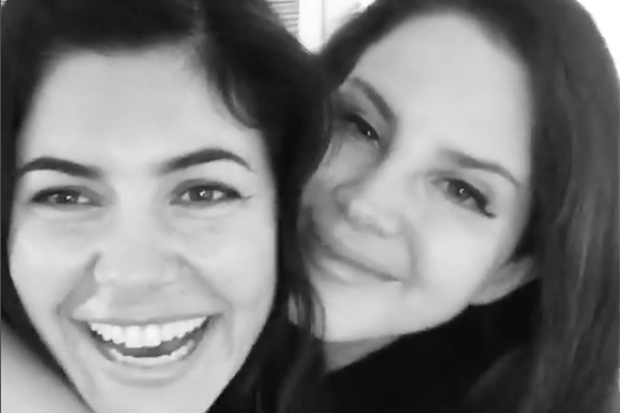 Lana Del Rey & Marina Hang In LA