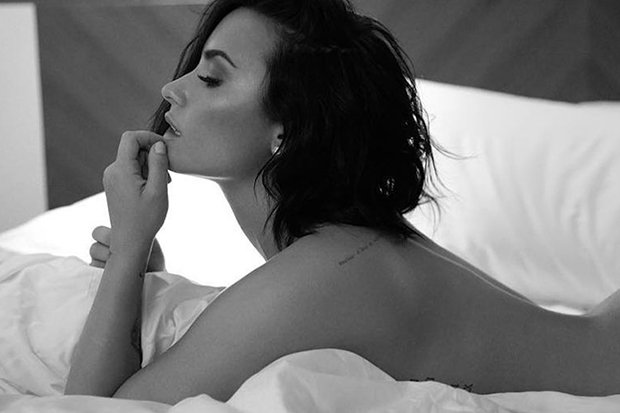 "Demi Lovato Teases ""Instruction"""