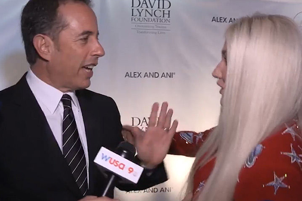 Jerry Seinfeld on Kesha snub: 'I don't hug a total stranger'