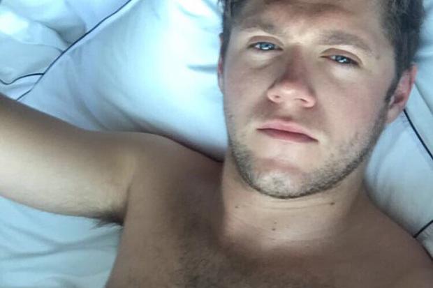 Niall Posts A Shirtless Selfie