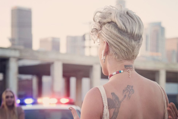 Pink Announces 'What About Us'