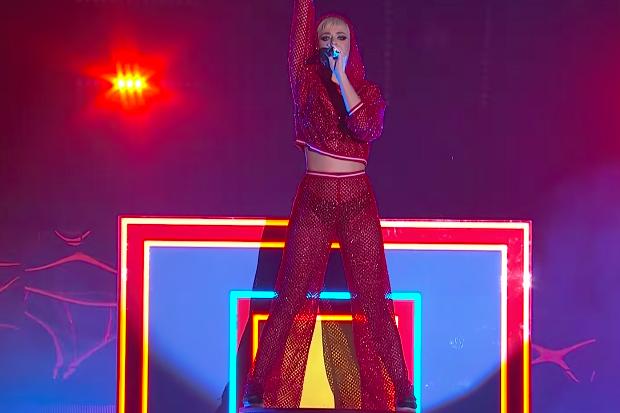 Katy Perry Performs On 'The Voice Australia'