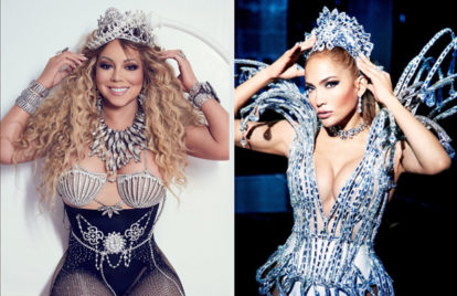 Mariah Carey & Jennifer Lopez Do 'Paper Magazine'