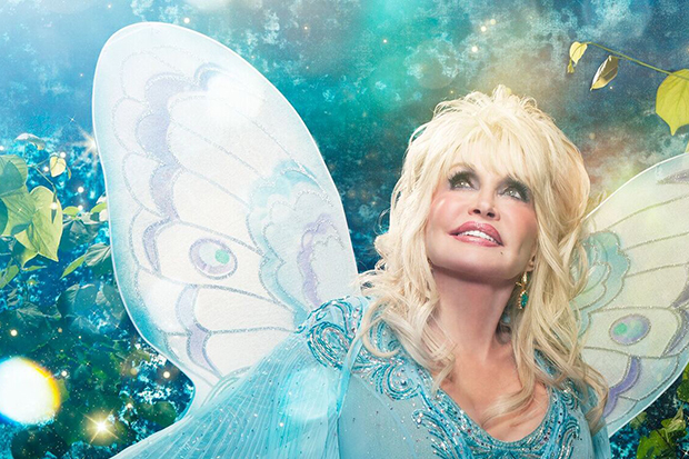 Peep Dolly Parton as a Beautiful Butterfly on New Children's Album Cover