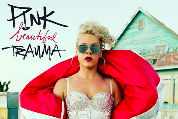Pink's 7th LP Is 'Beautiful Trauma'