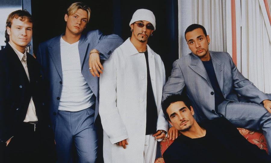 "The Backstreet Boys Debut ""I Want It That Way"""