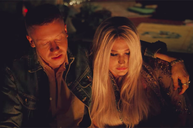 Kesha & Macklemore's 'Good Old Days' Video