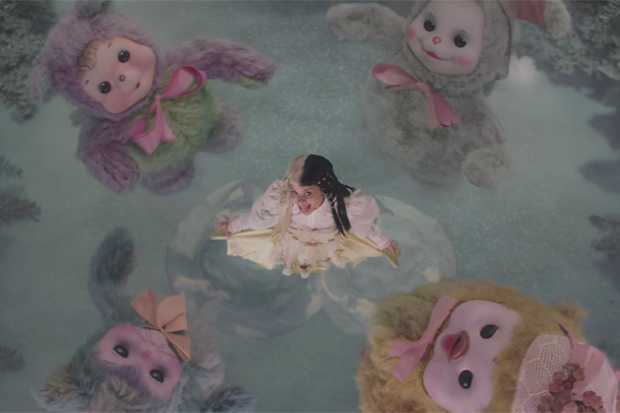 Melanie's Surreal 'Mad Hatter' Video