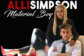 Alli Simpson Returns With 'Material Boy'