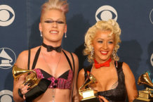 Christina Aguilera Tried To Punch Pink In A Club