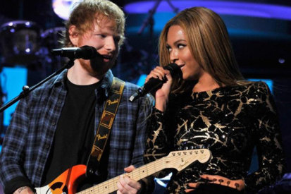 Ed Sheeran & Beyonce Reach #1 With