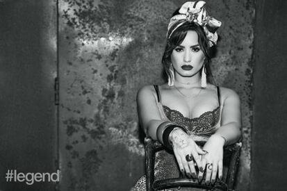 Demi Lovato Let It Go Album Cover