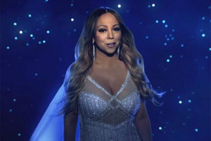 Mariah Carey Shines In Festive