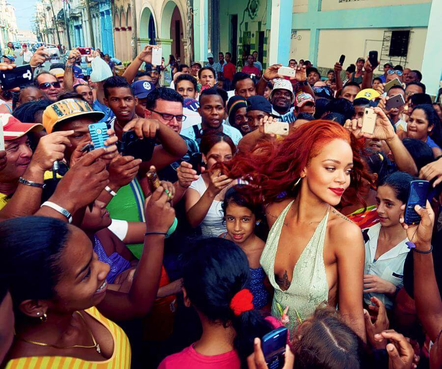 Rihanna's Navy Holds It Down