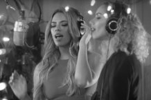 Dinah Jane & Leona Lewis Record A Xmas Medley