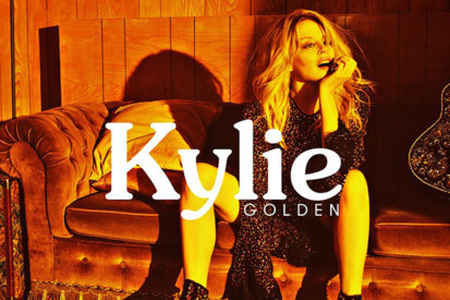 Kylie Minogue Reveals The Cover Of 14th LP 'Golden'