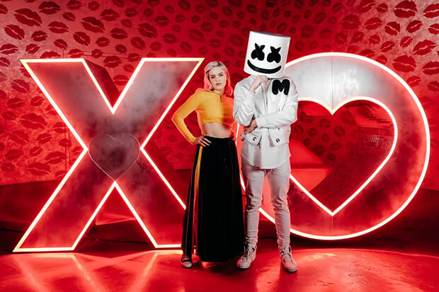 Marshmello anne maries friends is an anti valentines day anthem stopboris Images