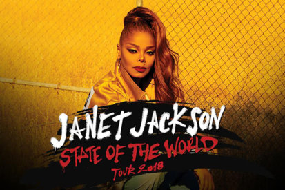 Janet Jackson Extends 'State Of The World Tour'