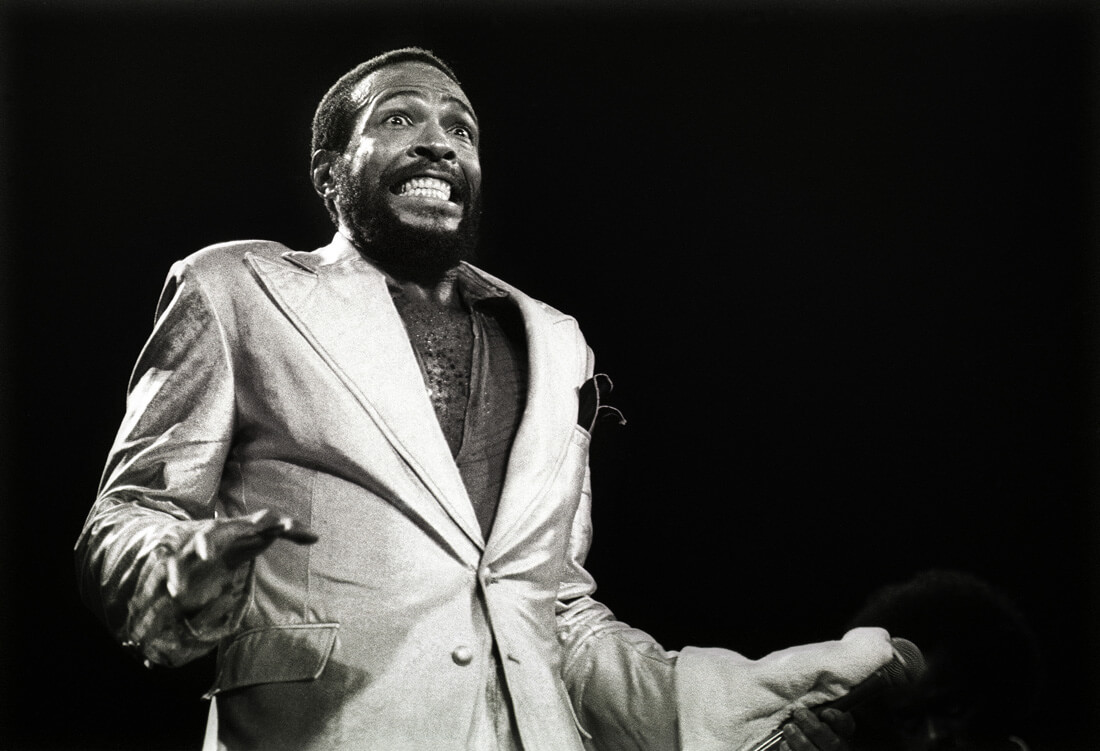 Marvin Gaye Pays Up To His Wife