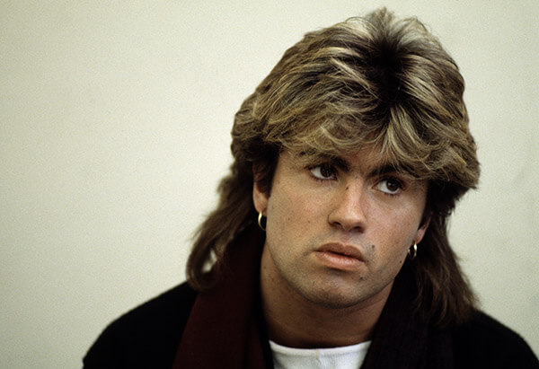 George Michael Hair Was Actually Pretty Enviable