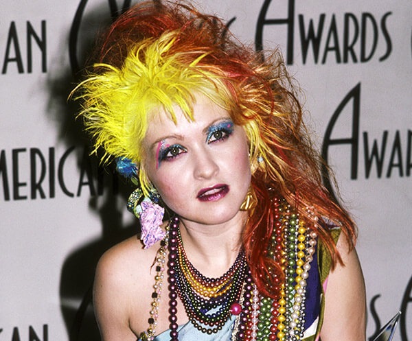 Yes, Cyndi Lauper's Hair Looked Like This