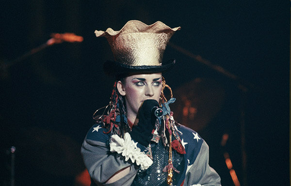 Boy George Was Known For His Outlandish Hair and Hat Collection