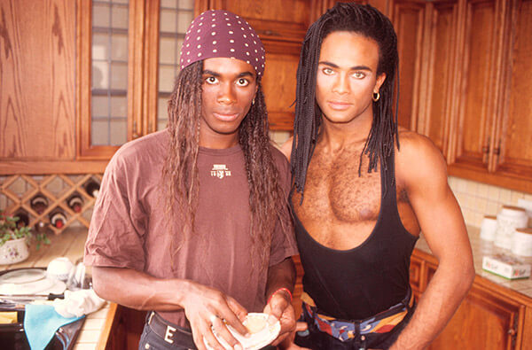 Milli Vanilli Had Some of the Best Hair In the '80s