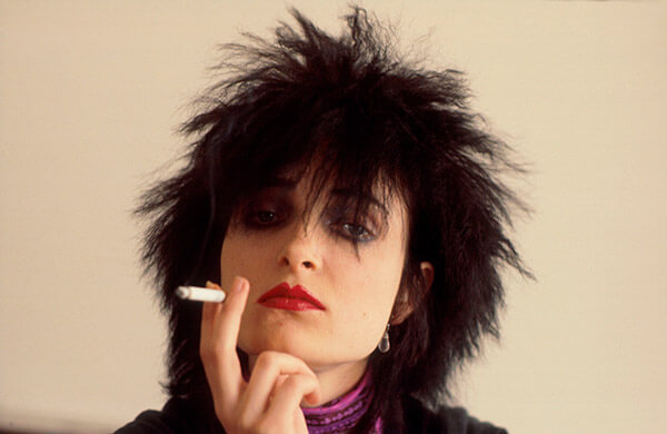 Siouxsie Sioux's Wild Locks
