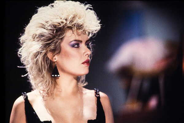 Kim Wilde's Mullet Was Feminine Yet Edgy