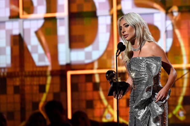 Lady Gaga 2019 Grammy Awards