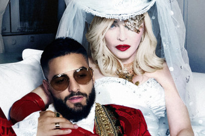 It's Here! Madonna Teams Up With Maluma For