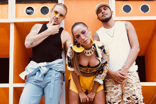 Anitta Major Lazer