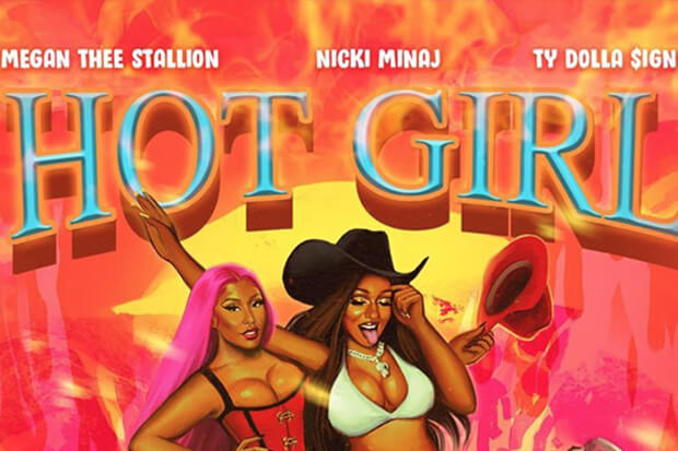 Megan Thee Stallion Nicki Minaj Ty Dolla $ign Hot Girl Summer
