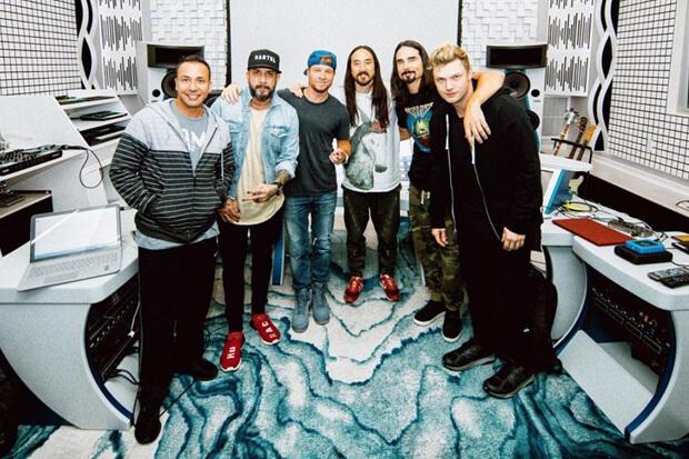 Backstreet Boys Steve Aoki