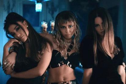 Ariana, Lana & Miley Drop