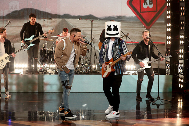 "Marshmello & Kane Brown Bring ""One Thing Right"" To 'The Ellen Show'"