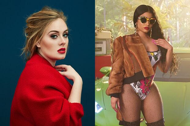 Nicki Minaj Says She Recorded A Collaboration With Adele