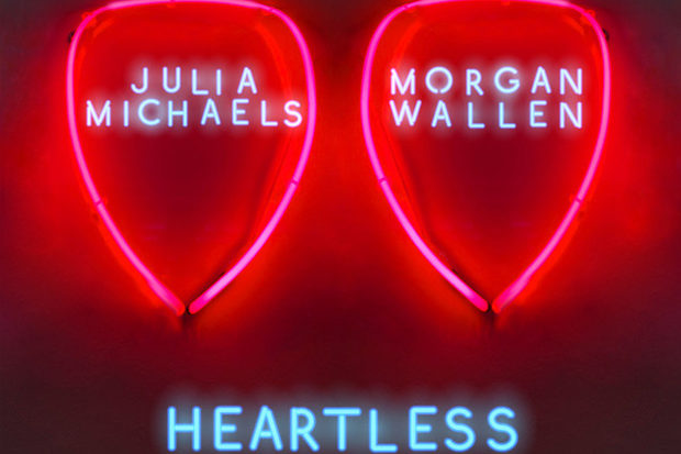 Julia Michaels Diplo Morgan Wallen Heartless Remix