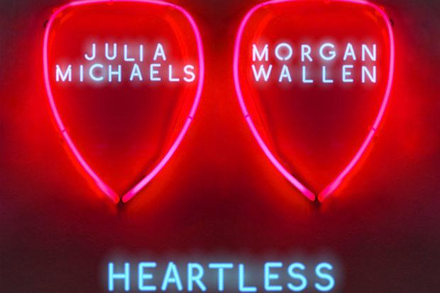Julia Michaels Diplo Morgan Wallen Heartless Remix