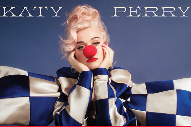 Katy Perry Reveals Cover Of 5th Album 'Smile'